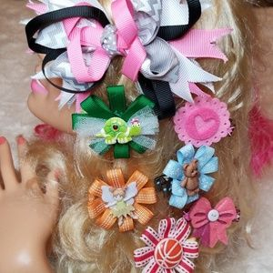 New 7 Piece Hairbow Collection 😊💕😊
